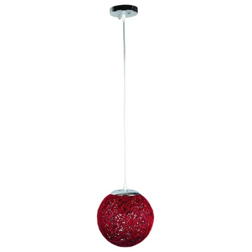 Лампа подвесная 9712001-1 красный 20 см Thexata 2020