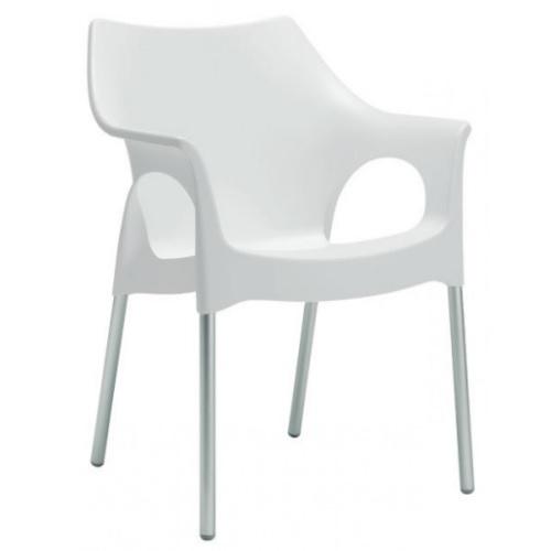 Кресло OLA белый SCAB Design