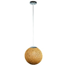Лампа подвесная 9712501-1 бежевый 25 см Thexata 2020