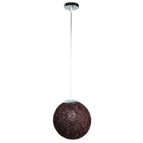 Лампа подвесная 9712501-1 коричневый 25 см Thexata 2020