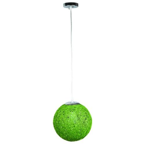 Лампа подвесная 9712501-1 зеленый 25 см Thexata 2020
