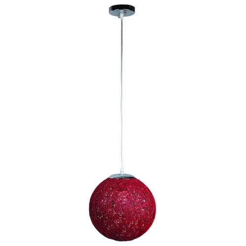 Лампа подвесная 9712501-1 красный 25 см Thexata 2020
