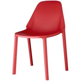 Стул PIÙ 2336 красный SCAB Design
