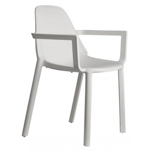 Кресло PIÙ 2335 белый SCAB Design
