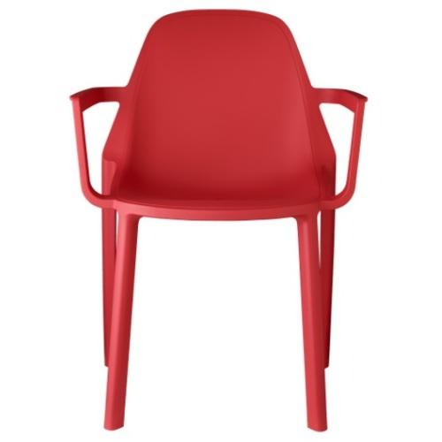 Кресло PIÙ 2335 красный SCAB Design