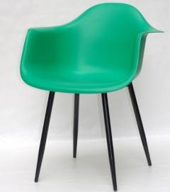 Кресло Leon BK зеленый Thexata 2020
