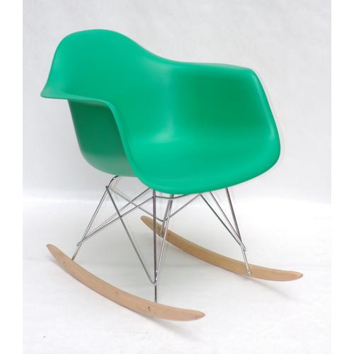 Кресло качалка Leon Rack зеленый 9567 Thexata 2020