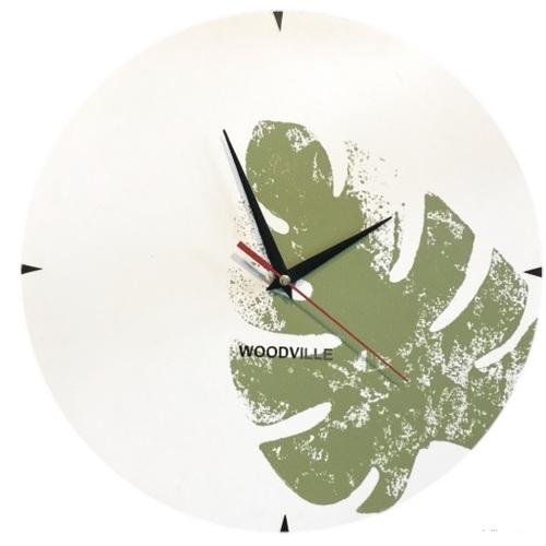 Часы Ботаник SS004610 зеленый Woodville
