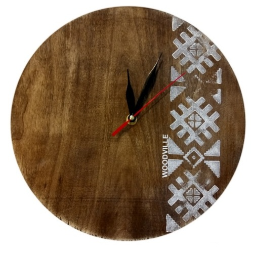 Часы Фолк SS004717 коричневый Woodville 2020