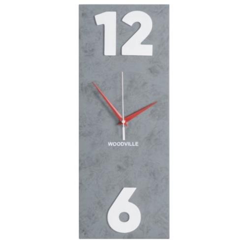 Часы Лофт SS004636 серый Woodville 2020