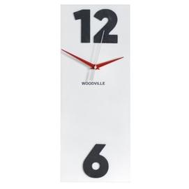 Часы Лофт SS004636 белый Woodville 2020