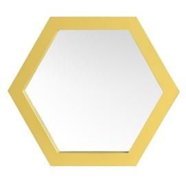 Зеркало Шестигранник 34см SS004666 золото WilleWood