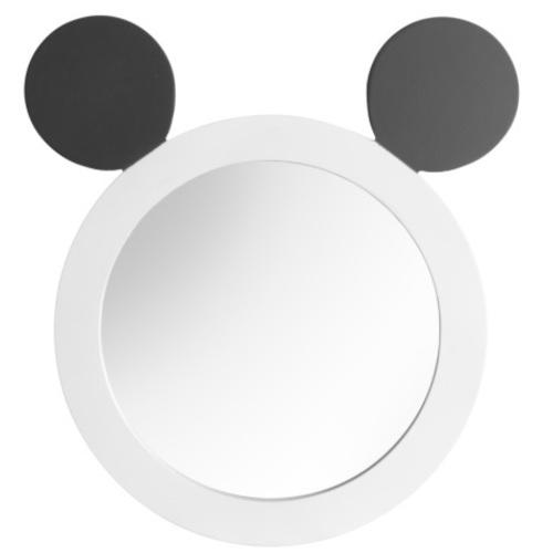 Зеркало Панда SS004659 бело-черный