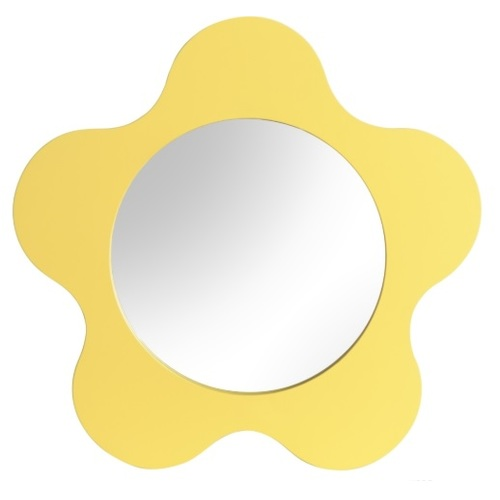Зеркало Ромашка SS004661 желтый Woodville 2020