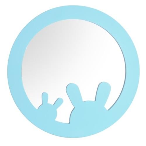 Зеркало BUNNY SS004662 голубой Woodville 2020