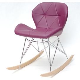 Кресло качалка Invar 9353 фиолетовый Thexata 2020