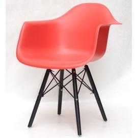 Кресло Leon BK красный 9501 Thexata 2020