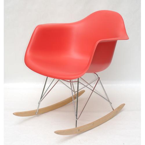 Кресло качалка Leon Rack красный 9568 Thexata 2020