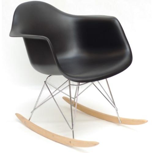 Кресло качалка Leon Rack черный 9566 Thexata 2020