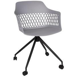 Кресло офисное Lavanda Roll серый Kolin 2020