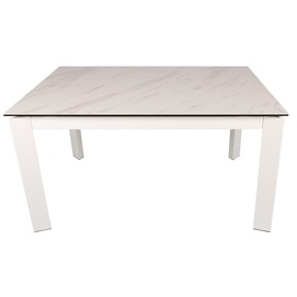 Стол обеденный раскладной OSLO 140 керамика белый Kolin 2020