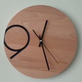 Часы Девять коричневый Arbre