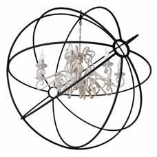 Люстра Разборная Орбита+Версаль 115 см черный LiteKraft