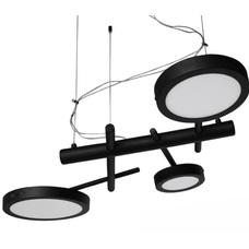 Люстра Сковородки 3 лампы черный LiteKraft