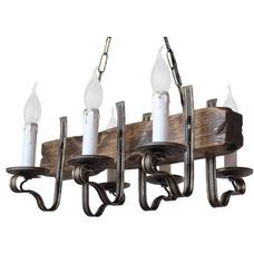 Люстра Амстердам 6 свечей бронзовый LiteKraft