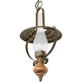 Лампа подвесная Керосинки бронзовый LiteKraft