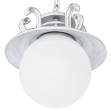 Лампа подвесная Сатурн белый LiteKraft
