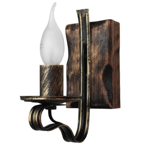 Бра Балка Амстердам 1 лампа бронзовый LiteKraft