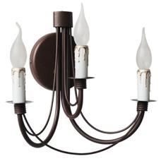 Бра Зонтик 3 свечи коричневый LiteKraft