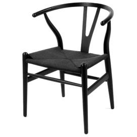 Кресло Wishbone черный ICOO 2020