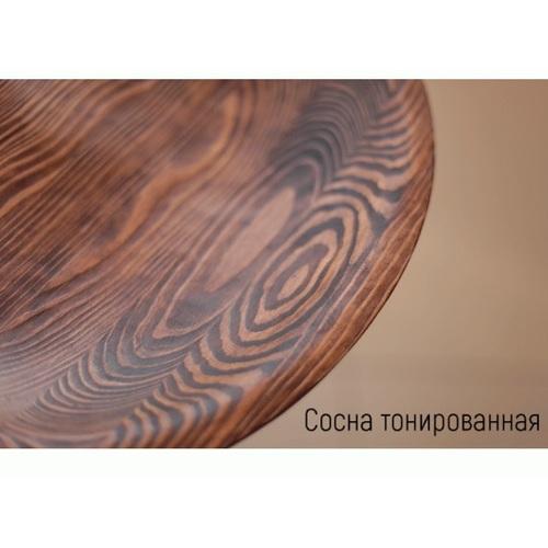 Табурет полубарный Loft-Modern сосна коричневый Turetskiy