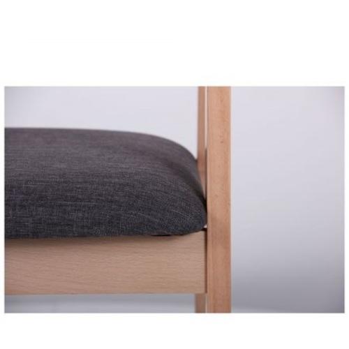 Кресло Маскарпоне бук серый 545027 Famm 2020