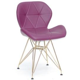 Стул Invar GD - ML 10014 фиолетовый Thexata 2020