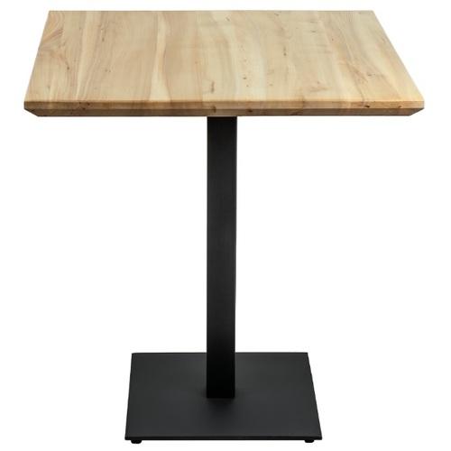 Стол обеденный Tetra 60см черный Lovko