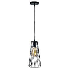 Лампа подвесная 756PR107F-1 BK черная Thexata 2020