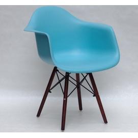 Кресло Leon W голубой 9556 Thexata 2020