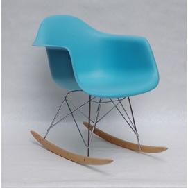 Кресло качалка Leon Rack голубой 9569 Thexata 2020