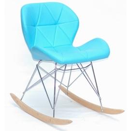Кресло качалка Invar 9940 голубой Thexata 2020