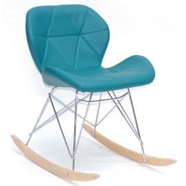 Кресло качалка Invar 9913 зеленый Thexata 2020
