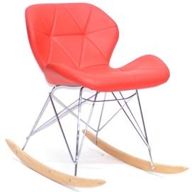 Кресло качалка Invar 9912 красный Thexata 2020
