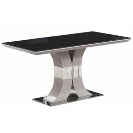 Стол обеденный Космо 140 см черный Prestol
