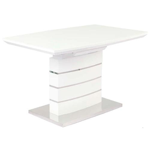 Стол обеденный раскладной Скай 120см белый Prestol