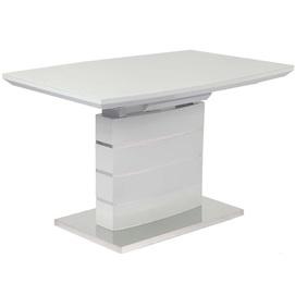 Стол обеденный раскладной Скай 120см серый Prestol