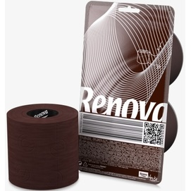Renova туалетная бумага коричневая 2 шт. 16421