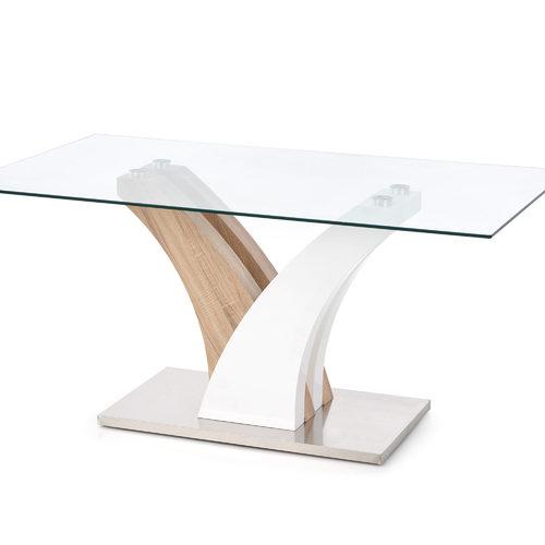 Стол обеденный VILMER прозрачный Halmar