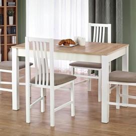 Стол обеденный KSAWERY белый+бежевый Halmar